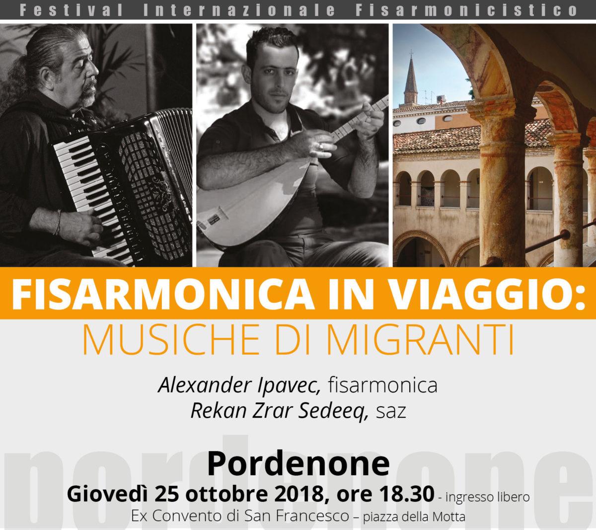 FISARMONICA IN VIAGGIO: MUSICHE DI MIGRANTI